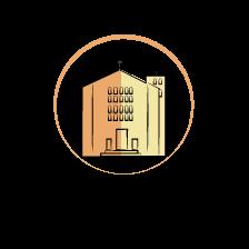 San Benedetto Abate – Pomezia Logo